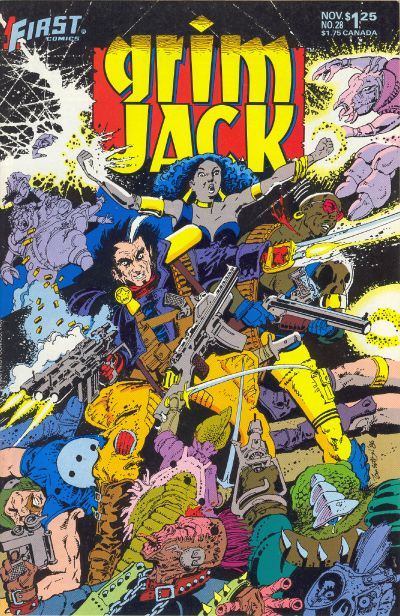 Cover for Grimjack (First, 1984 series) #28