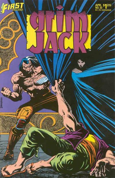Cover for Grimjack (First, 1984 series) #33