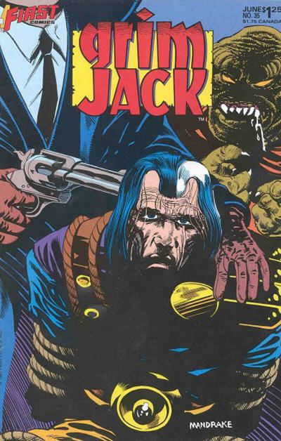 Cover for Grimjack (First, 1984 series) #35