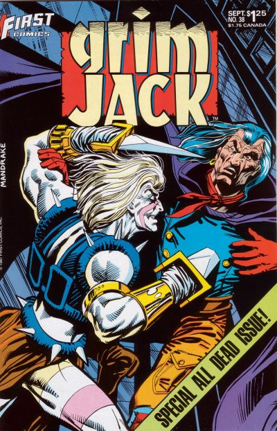 Cover for Grimjack (First, 1984 series) #38