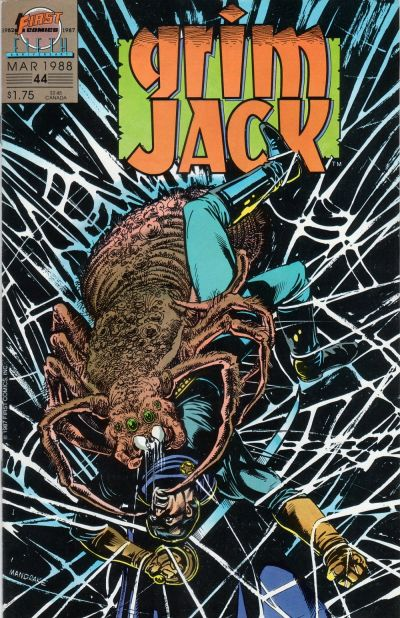 Cover for Grimjack (First, 1984 series) #44
