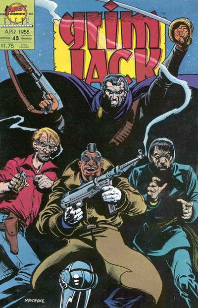Cover for Grimjack (First, 1984 series) #45