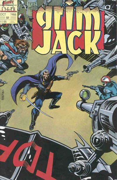 Cover for Grimjack (First, 1984 series) #51