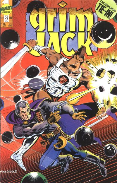 Cover for Grimjack (First, 1984 series) #52