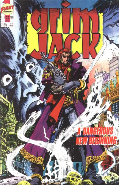 Cover for Grimjack (First, 1984 series) #55