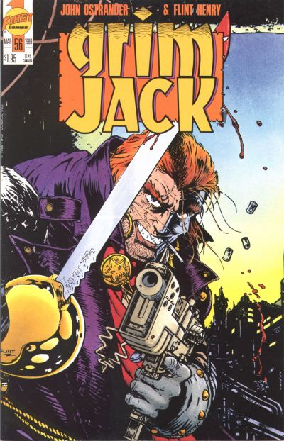 Cover for Grimjack (First, 1984 series) #56