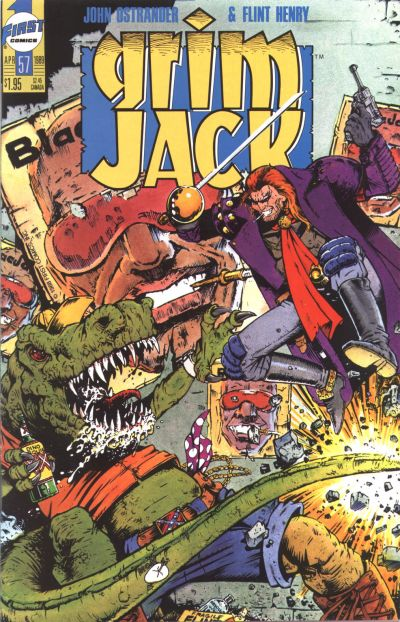 Cover for Grimjack (First, 1984 series) #57