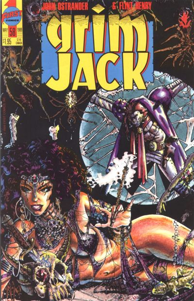 Cover for Grimjack (First, 1984 series) #58