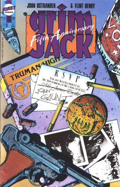 Cover for Grimjack (First, 1984 series) #60