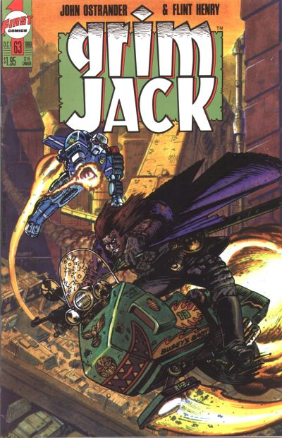 Cover for Grimjack (First, 1984 series) #63