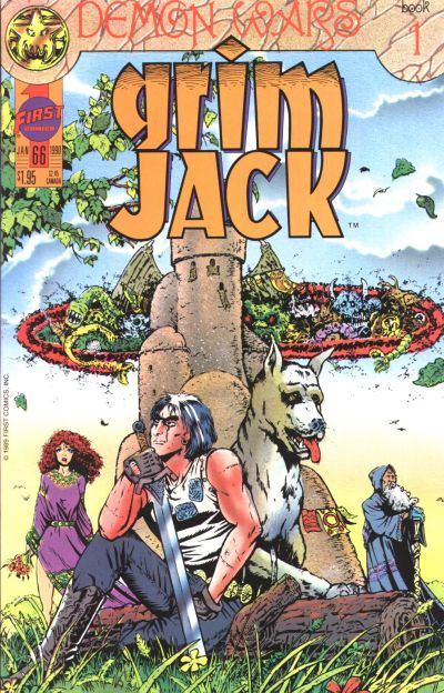 Cover for Grimjack (First, 1984 series) #66