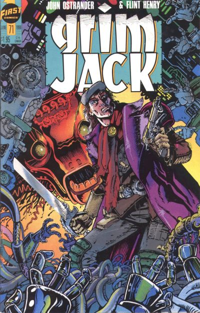 Cover for Grimjack (First, 1984 series) #71