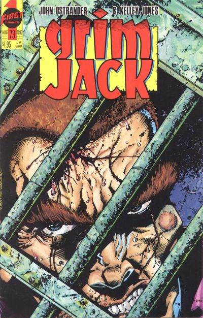 Cover for Grimjack (First, 1984 series) #73