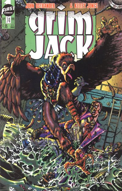 Cover for Grimjack (First, 1984 series) #74