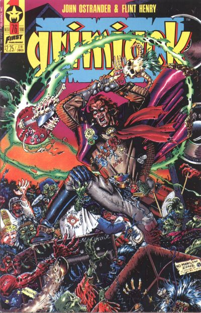 Cover for Grimjack (First, 1984 series) #76