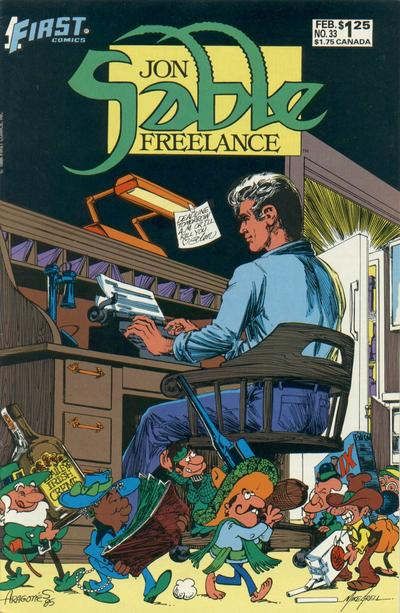 Cover for Jon Sable, Freelance (First, 1983 series) #33