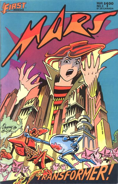 Cover for Mars (First, 1984 series) #3