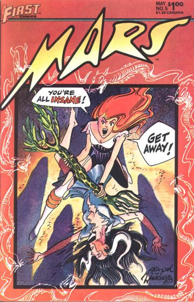 Cover for Mars (First, 1984 series) #5