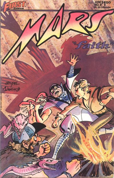 Cover for Mars (First, 1984 series) #6