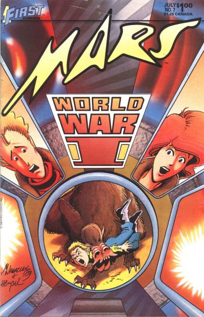 Cover for Mars (First, 1984 series) #7