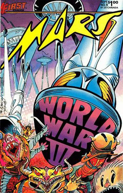 Cover for Mars (First, 1984 series) #9