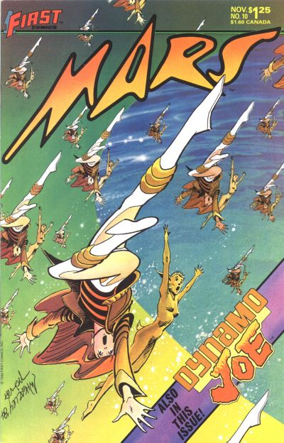 Cover for Mars (First, 1984 series) #10