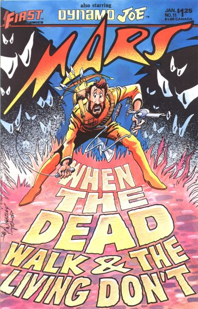 Cover for Mars (First, 1984 series) #11