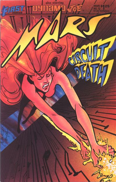 Cover for Mars (First, 1984 series) #12