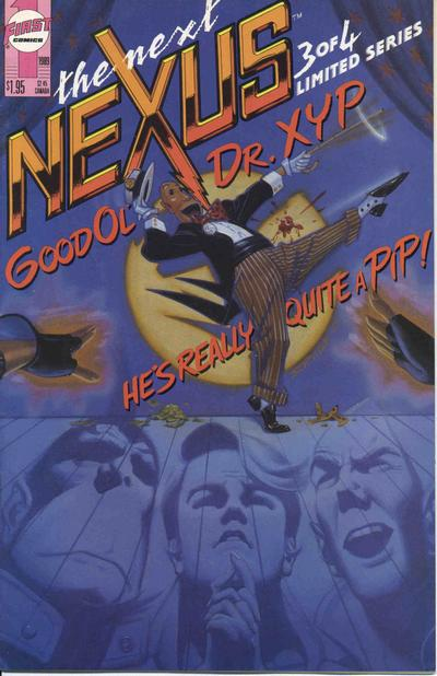 Cover for The Next Nexus (First, 1989 series) #3