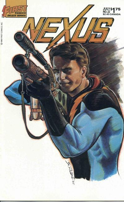 Cover for Nexus (First, 1985 series) #22