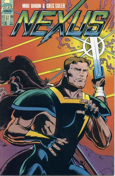 Cover for Nexus (First, 1985 series) #61