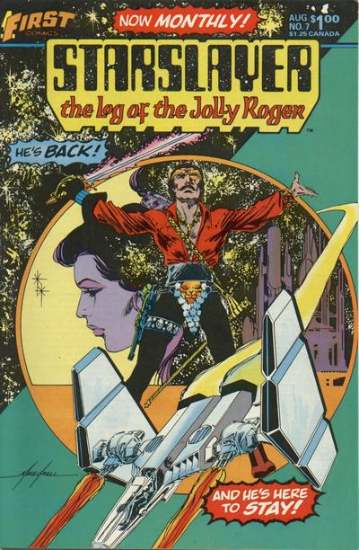 Cover for Starslayer (First, 1983 series) #7