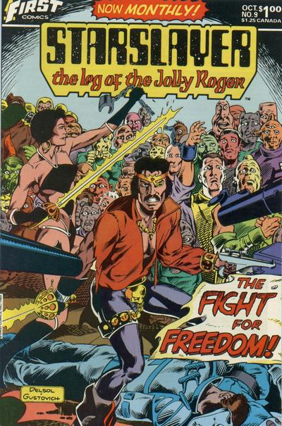 Cover for Starslayer (First, 1983 series) #9