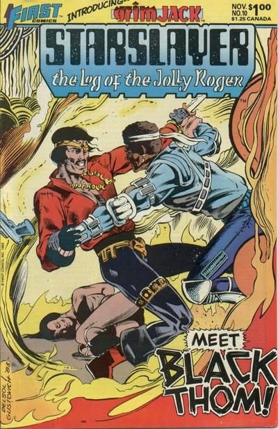 Cover for Starslayer (First, 1983 series) #10