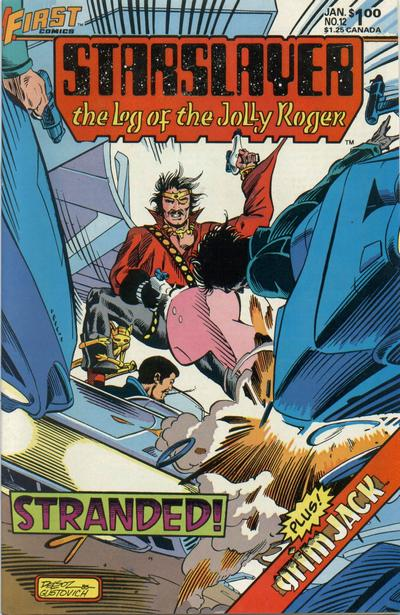 Cover for Starslayer (First, 1983 series) #12