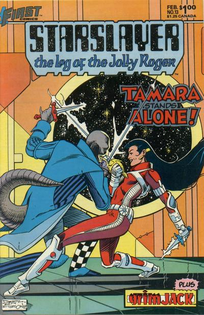 Cover for Starslayer (First, 1983 series) #13