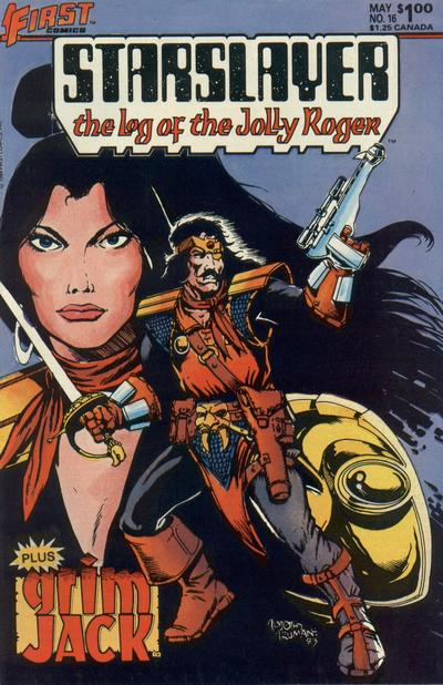 Cover for Starslayer (First, 1983 series) #16