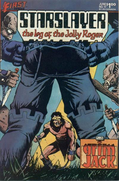 Cover for Starslayer (First, 1983 series) #17