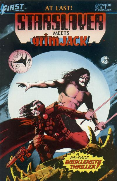 Cover for Starslayer (First, 1983 series) #18