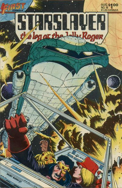 Cover for Starslayer (First, 1983 series) #19