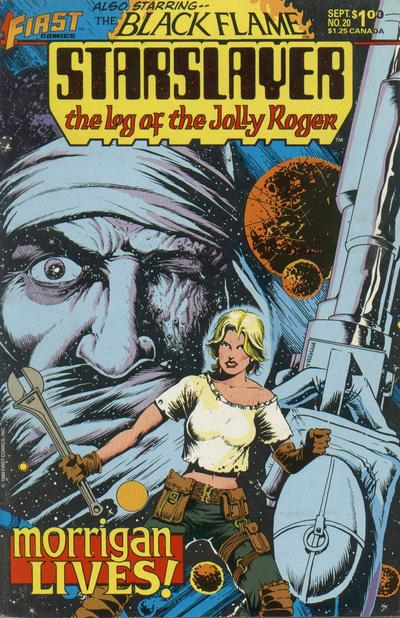 Cover for Starslayer (First, 1983 series) #20