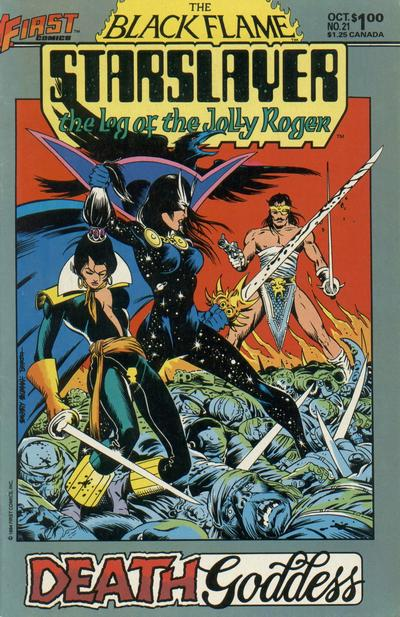 Cover for Starslayer (First, 1983 series) #21