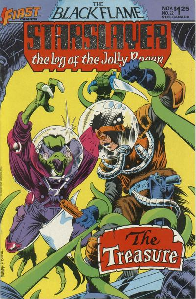 Cover for Starslayer (First, 1983 series) #22