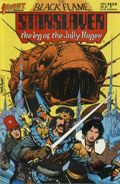 Cover for Starslayer (First, 1983 series) #23