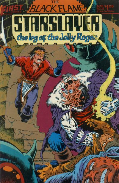 Cover for Starslayer (First, 1983 series) #26