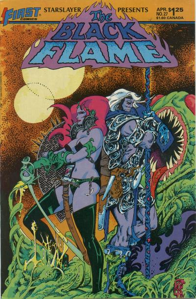 Cover for Starslayer (First, 1983 series) #27