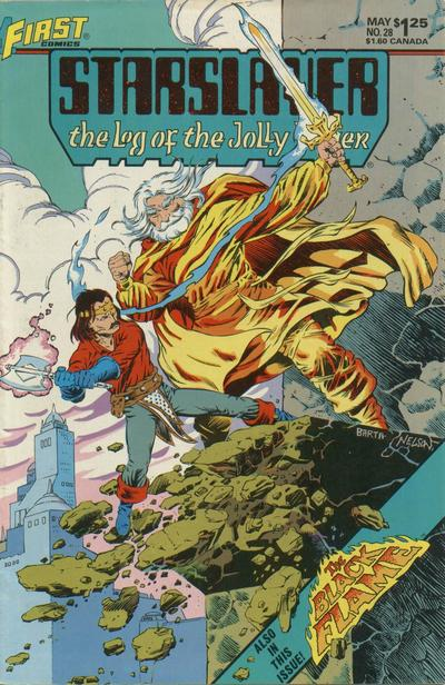 Cover for Starslayer (First, 1983 series) #28