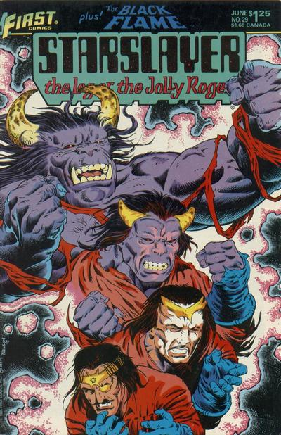 Cover for Starslayer (First, 1983 series) #29