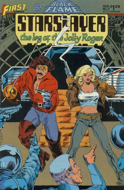 Cover for Starslayer (First, 1983 series) #31