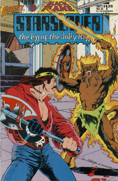 Cover for Starslayer (First, 1983 series) #32